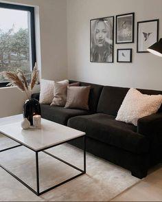 Apartment Interior, Apartment Living, Room Interior, Home Room Design, Home Interior Design, Living Room Designs, Home Living Room, Living Room Decor, Bedroom Decor