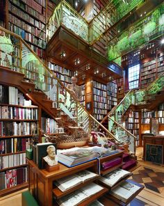 こんな場所で本を読めたら幸せです。