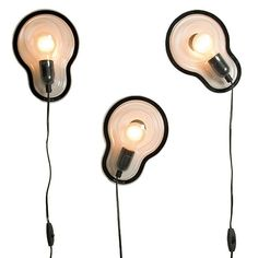 Sticky Lamp by Droog Design. These are in my house. Love them!
