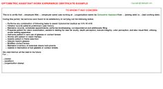 Image result for experience certificate sample in word format vect image result for experience certificate sample in word format yelopaper Image collections