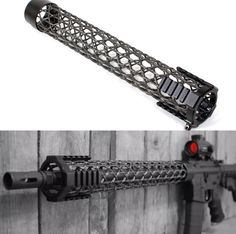 Brigand Arms created a Carbon Fiber Front Stock to minimize the weight of the AR-15