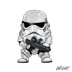 Resultado de imagen para star wars caricatura