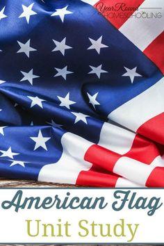c914245bd Free American Flag Unit Study