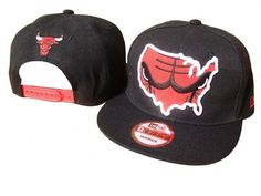 3db87267b0266 NBA Chicago Bulls Mitchell  amp  Ness Snapback Hat (3)