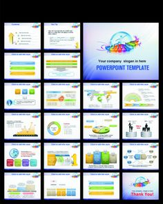 technology computer information network communication ppt, Powerpoint templates