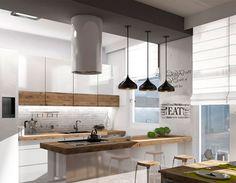 kitchen ideas Kitchen Ideas, Loft, Table, Furniture, Home Decor, Arquitetura, Decoration Home, Room Decor, Lofts