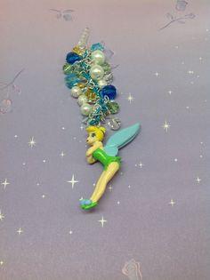 Tinkerbell cell phone charm kawaii charm by PmBSparklesLinks, $18.00
