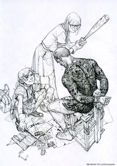 2011 sketchbook is the second sketchbook produced by Kim Jung Gi.   www.kimjunggius.com