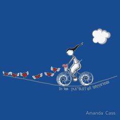 """""""In the pursuit of happiness"""" by Amanda Cass"""