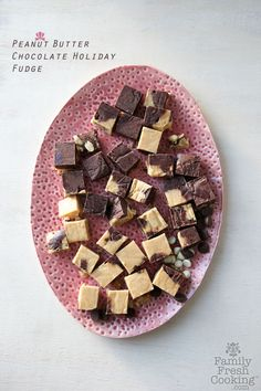 Chocolate Peanut Butter Holiday Fudge | FamilyFreshCooking.com