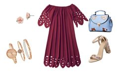 """""""Dreamy walk"""" by sandris29 on Polyvore featuring 1928, SO & CO, romantic, Flowers and lace"""
