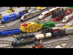 Automated Lego train track: how it works video - YouTube | trains ...