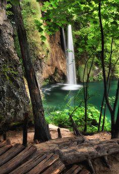 Plitvička jezera - Gorgeous waterfall...