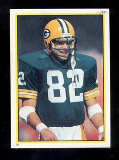 1984 Topps Paul Coffman Green Bay Packers Yearbook Sticker Mint RARE | eBay