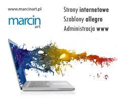 Strony Internetowe, szablony allegro, administracja www oraz grafika na potrzeby internetu oraz druku - wszystko w jednym miejscu!  #stronywww #szablonyallegro #adminwww #webmaster