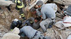 Al menos 63 muertos por sismo en Italia
