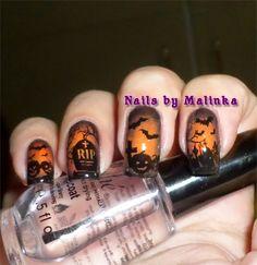Nails by Malinka: Halloween (2)