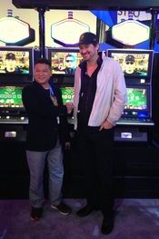 Two LEGENDS!  A Rematch of he 89 final?  Hellmuth and Chan Lend Their Likenesses To A Poker Machine. www.highrollerradio.net