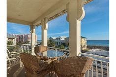 See details and book your stay at Emerald Waters at Destin Pointe in Destin, Florida. This House / Cottage has 3 bedrooms, 3 baths and sleeps Destin Beach House Rentals, Cottage Style Homes, Us Beaches, Florida Home, Beach Chairs, Porches, Boats, Outdoor Living, Coastal