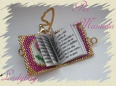 wedding anniversary gift idea; have either vows or song lyrics from the day inside a 'book' made in the wedding colours; easy make! do snowflake pattern for sil