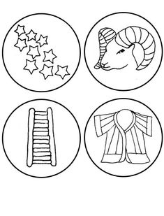 jesse tree coloring pages - photo#11