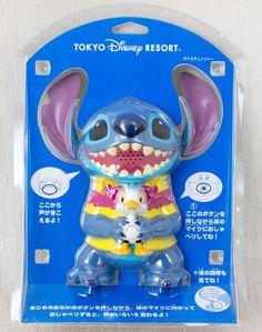 RARE! Stitch Figure Type Voice Changer Tokyo Disney Resort JAPAN ANIME