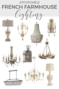 French farmhouse lighting Lighting can make a huge difference to the character of a room If youre looking for affordable French farmhouse lighting check out this complet. Farmhouse Lamps, Farmhouse Light Fixtures, Shabby Chic Farmhouse, Country Farmhouse Decor, Farmhouse Lighting, French Farmhouse, Kitchen Fixtures, Farmhouse Style, Antique Farmhouse