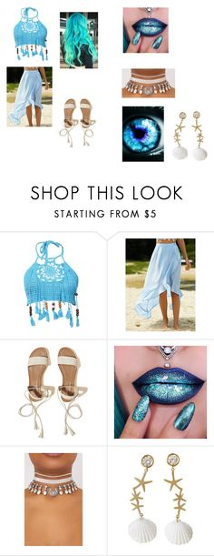 """""""WATER!!! Element"""" by nekogirl13 on Polyvore featuring Hollister Co. and Poporcelain"""