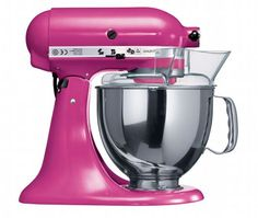 KitchenAid Artisan Stand Mixer, yes in bright pink