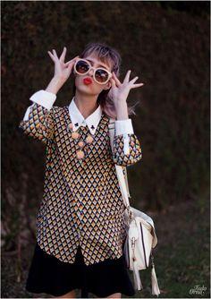 Tudo Orna: WOMENS DESIGNER ROUND SUNGLASSES OVERSIZE RETRO FASHION SUNGLASSES 8623