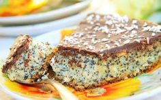 Ingredients: Butter — 150 g Baking powder — 1 tsp Egg — 2 PCs. Cooking Panda, Poppy Seed Cake, Sweet Pastries, Cook At Home, Russian Recipes, Just Cooking, How Sweet Eats, Coffee Cake, Banana Bread