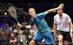 By keeping your elbow below your wrist during the swing your racket head will naturally lift up above the ball and open up the racket face.  #squash #psa #psaworldtour #technique #Salming