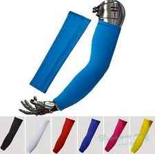 Buy New Pure color simple style Bike MTB Cycling Arm Warmers UV Protection Oversleeve Armwarmer Sleeves Riding Arm Sleeve Basketball Stretches, Baskets, Lycra Men, Cycle Ride, Basket Ball, Cycling Outfit, Sun Protection, Simple Style, Arm Warmers