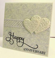 Jenfa Cards: Anniversary Hearts
