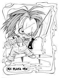 Hasil Gambar Untuk Dibujos De Chucky El Muñeco Diabolico