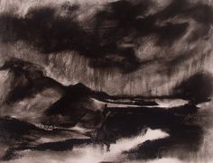 Jan Blencowe The Poetic Landscape: Expressive Charcoal Drawings