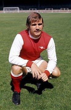 Eddie Kelly Arsenal 1972