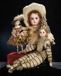 The Stein am Rhein Museum Collection: 202 Gorgeous French Bisque Bebe E.J.,Size 14,by Emile Jumeau
