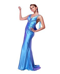 Amazon.com: Tony Bowls Blue Prom Dress 18726: Clothing
