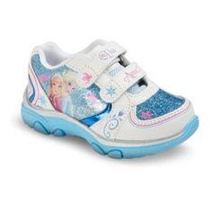 Disney® Frozen Toddler Girl's Sneakers - Blue 12