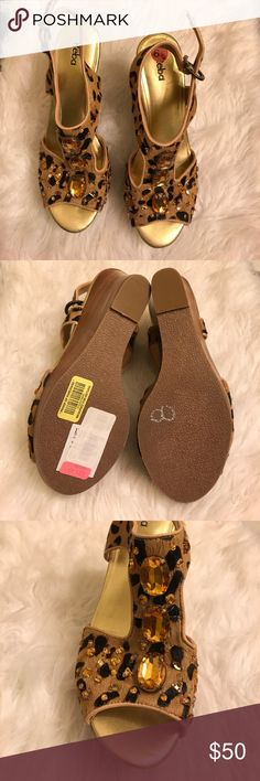 ✨ Reba Wedge Sandal 💜 Please see pics for details Reba Shoes Wedges