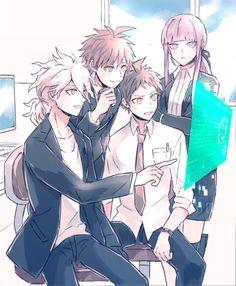 Komaeda | Makoto | Hajime | Kyoko