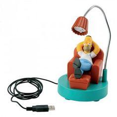 Simpsons USB Computer Desk Lamp