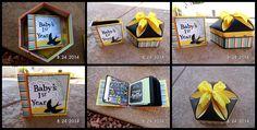 Decorative Box 1 & Mini album designed by Kathy Orta - http://shop.paperphenomenon.com/Decorative-Box-1-with-Mini-Album-EKC12JulAug-Bonus-Project-TUT085.htm