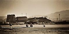 A-10 Warthog; military airplanes.