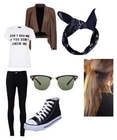 """""""Untitled #59"""" by lexi-cox04 on Polyvore featuring MuuBaa, Ray-Ban, Ström, Goldie, Boohoo and Balmain"""