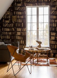 If you love to read, make a spot in your home just for reading.