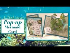 Pop-up Mermaid Card - YouTube