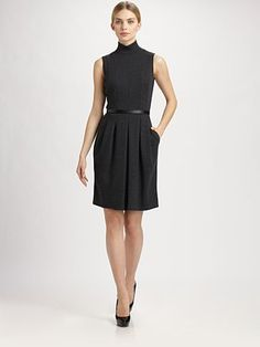 Akris Belted Dress