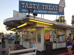Tasty Treat - Lockport, NY...went past there on Sunday. It's open for the season.  Good ice cream